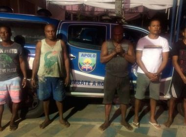 PM prende cinco em esquema que roubava, vendia e 'esquentava' veículos