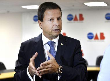 Presidente da OAB diz que é 'inadmissível' Senado usar voto secreto em caso de Aécio
