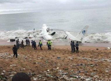 Queda de avião na Costa do Marfim deixa ao menos quatro mortos