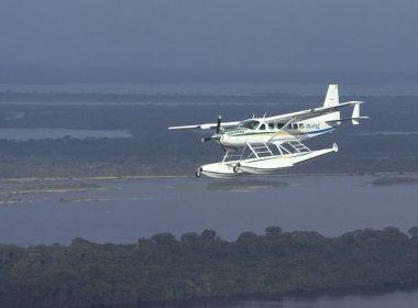 Avião cai no Amazonas e deixa uma pessoa morta e quatro feridas