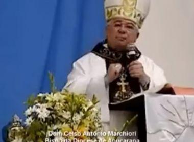 Bispo pede que fiéis não vejam novelas e diz que Rede Globo é 'demônio em nossas casas'