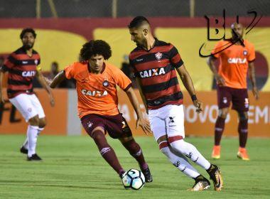 Vitória frustra torcida mais uma vez e perde no Barradão para o Atlético-PR