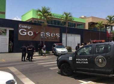 Goiás: Polícia confirma que adolescente de 14 anos baleou seis em escola