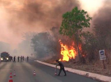 Barreiras: Cidade é atingida por um dos maiores incêndios registrados na região