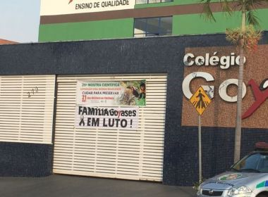 MP recomenda internação por 45 dias de adolescente que matou colegas em Goiânia