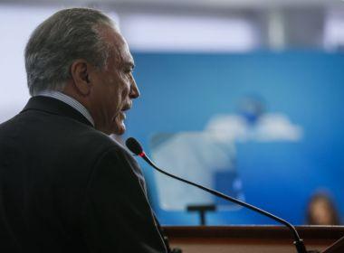 Michel Temer é o presidente com maior rejeição do mundo, aponta pesquisa