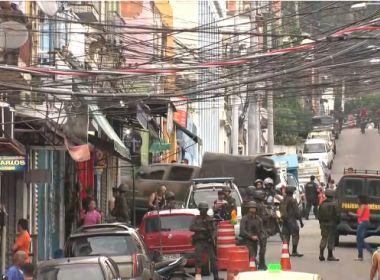 Polícia do Rio faz operação na Rocinha em conjunto com as Forças Armadas