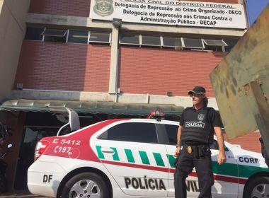 Polícia no DF e GO deflagram operação contra 'Máfia dos Concursos'
