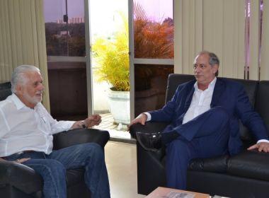 Ciro almoça com Wagner e aposta que ex-governador será candidato do PT a presidente