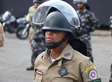 Tenente é primeira mulher a completar curso da Polícia de Choque na BA