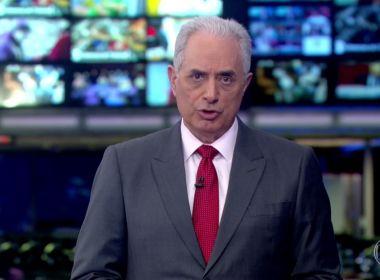 Globo afasta William Waack após vídeo revelar caso de racismo