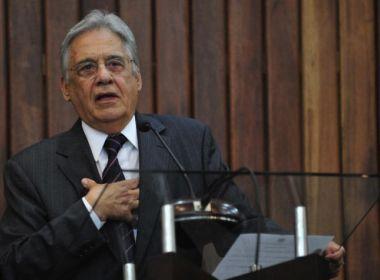 Fernando Henrique Cardoso apoia Alckmin na presidência do PSDB