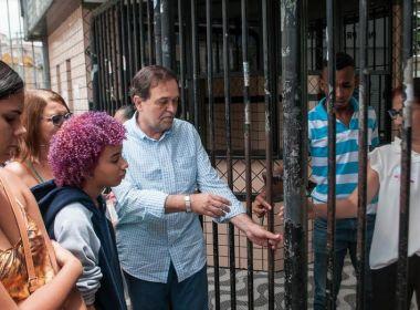 Secretário de Educação faz abertura simbólica de portões para o Enem