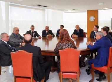 Aleluia articula reunião de Temer com empresários para destravar obras na Bahia