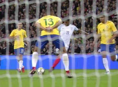 Em jogo morno, Brasil fica no empate com a Inglaterra em Londres