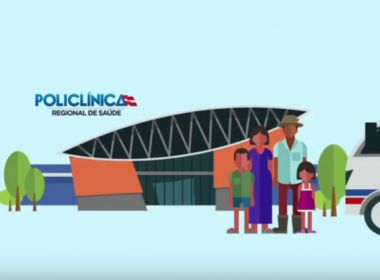 Policlínicas começam a ser entregues na sexta; vídeo explica como será funcionamento