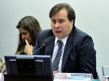 Maia reage à publicação de MP com alterações na reforma trabalhista: 'um erro'