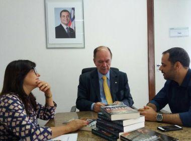 Sindicato dos Bancários discute com Leão fechamento de agências no estado