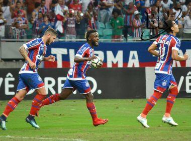Rumo à Libertadores! Bahia vira sobre o Santos e encosta de vez no G-7