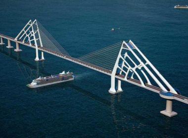 Leilão da ponte Salvador-Itaparica será em abril do ano que vem, afirma João Leão