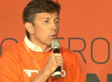 Partido Novo lança empresário João Amoêdo como pré-candidato à Presidência em 2018
