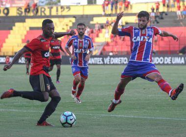 Bahia não reage, perde para o Sport e se distancia da zona do G-7