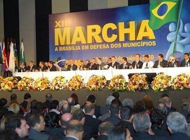 Bahia contará com mais de 320 prefeitos na Marcha a Brasília, estima CNM