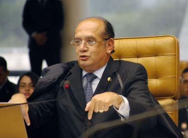 Gilmar Mendes afirma que foro privilegiado dá 'supertrabalho' ao STF