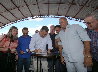 Governo do Estado assina ordem de serviço para recuperação de 83 km da BA-156