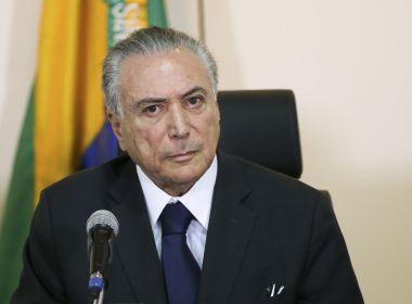 Paraná Pesquisas: 89,4% desaprovam governo Michel Temer na Bahia