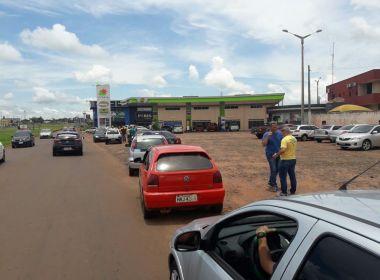 Protesto: Brasileiros atravessam fronteira com Paraguai por gasolina a R$ 2,65