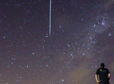 Céu recebe chuva de meteoros na madrugada de quinta; fenômeno pode ser visto a olho nu
