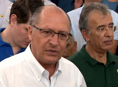 Tucanos que votarem contra reforma da Previdência serão punidos, diz Alckmin