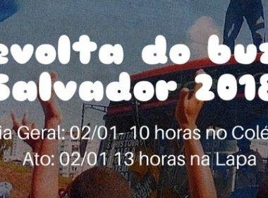 Evento no Facebook marca 'Revolta do Buzu' contra novo aumento na passagem de ônibus