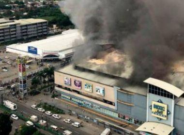 Em meio a tempestade tropical, incêndio deixa ao menos 37 mortos nas Filipinas