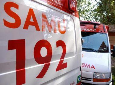 Samu recebeu mais de 100 mil trotes em Salvador no ano de 2017