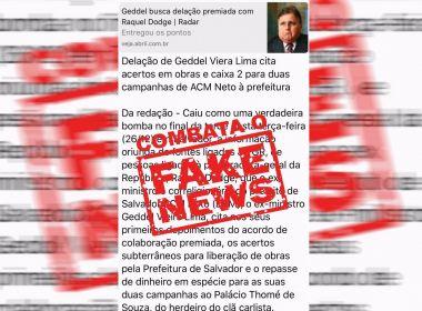 'Fake news' estreia no jogo eleitoral baiano e reforça papel do jornalismo