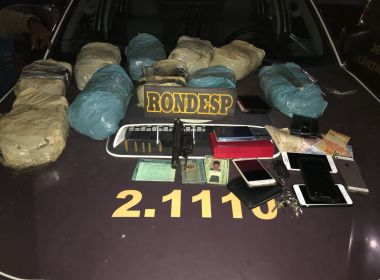 Rondesp apreende 20 quilos de drogas que seriam vendidas no Festival da Virada