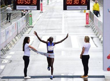 Atletas da Etiópia e Quênia vencem provas masculina e feminina da São Silvestre 2017