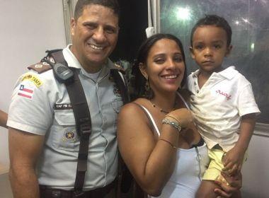 PM localiza mãe que se perdeu do filho de 3 anos durante queima de fogos no réveillon
