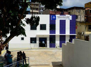 Prefeito inaugura primeiro posto de saúde da Capelinha de São Caetano