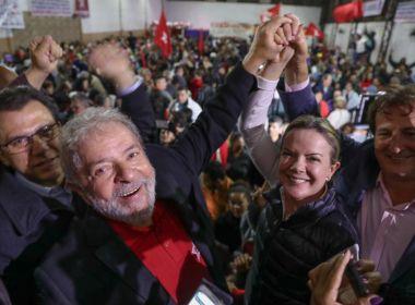 Presidente nacional do PT, Gleisi Hoffmann lança comitê em Salvador e participa do Bonfim