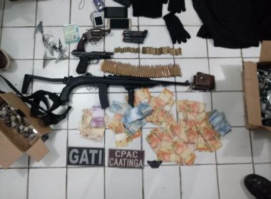Trio suspeito de explodir carro-forte em Juazeiro morre em confronto com a polícia