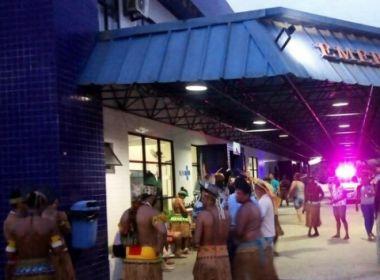 Porto Seguro: Pataxós protestam após morte de três indígenas em hospital