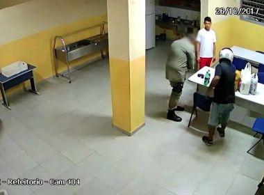 Entregador faz 'delivery de lanche' para detento em presídio de Maceió