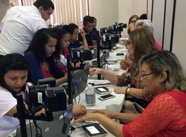 Salvador ainda tem cerca de 800 mil eleitores sem recadastramento biométrico