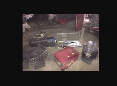 Equipamentos roubados de Caetano Veloso são recuperados pela PM em Ibirapitanga