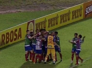 Com gols de Kayke e Zé Rafael, Bahia vence o Altos em Teresina