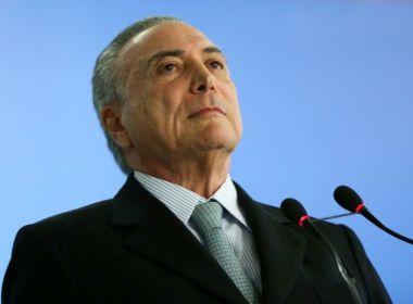 Datafolha: Governo Temer é avaliado como 'ruim' ou 'péssimo' por 70% dos brasileiros