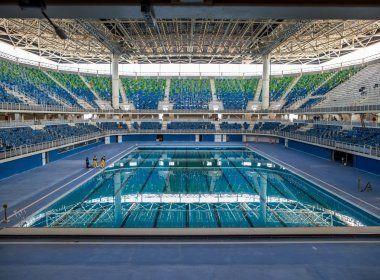 Transporte de piscina olímpica custará R$ 246 mil; instalação deve começar dia 20